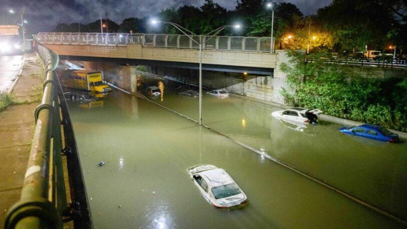 La histórica inundación en New York dejó al menos 9 muertos