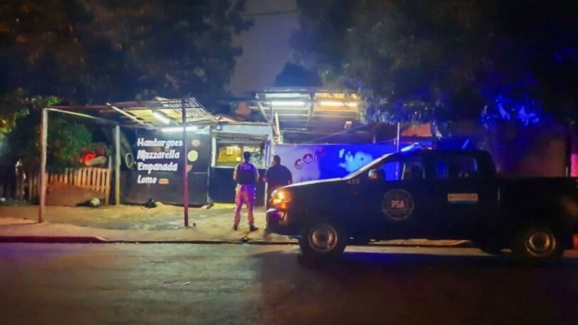 Desbaratan kiosco de drogas que funcionaba en un local de comidas rápidas en Posadas