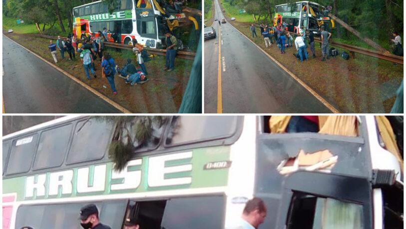Despiste del colectivo: trascendió la lista de heridos y muertos