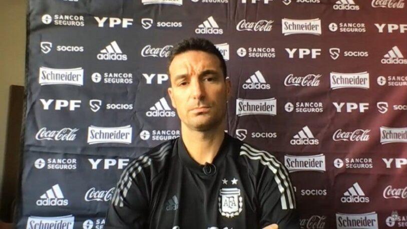 Argentina vs Brasil: Scaloni anticipó cambios en la Selección