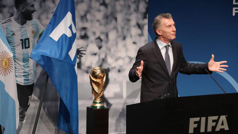 Mauricio Macri se mostró a favor del Mundial cada dos años