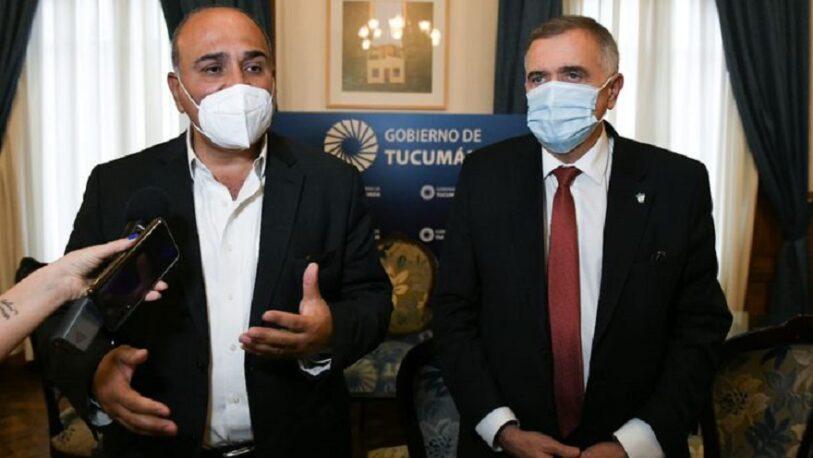 Hubo acuerdo: Jaldo quedará a cargo de la gobernación de Tucumán con Manzur en licencia