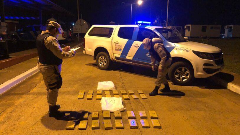 Secuestraron más de 183 kilos de marihuana en Misiones y Corrientes