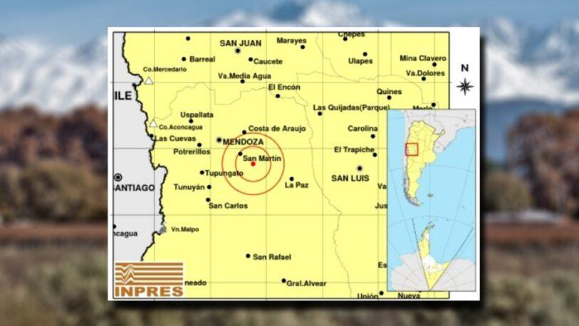 Un fuerte terremoto de 5,2 grados sacudió Mendoza