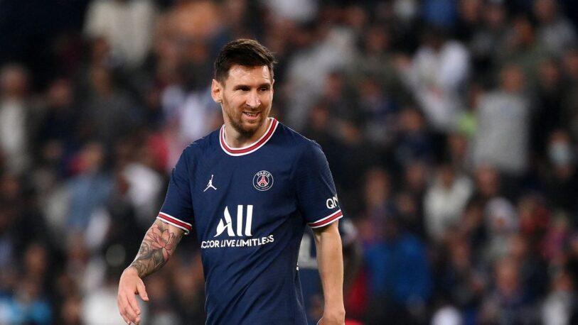 PSG confirmó la lesión de Lionel Messi en su rodilla izquierda
