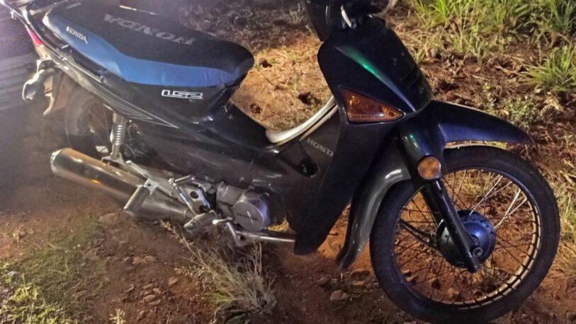Falleció un motociclista que despistó en Puerto Piray