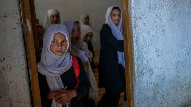 Reabrieron las escuelas en Afganistán, pero sin niñas ni maestras