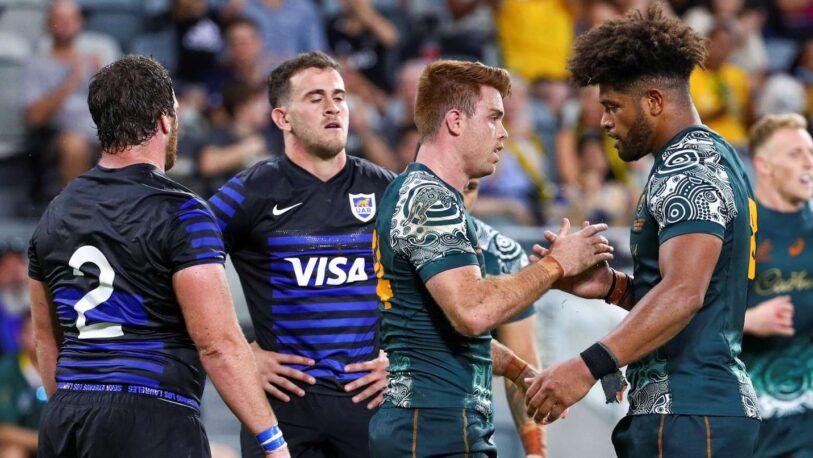 Los Pumas perdieron ante Australia