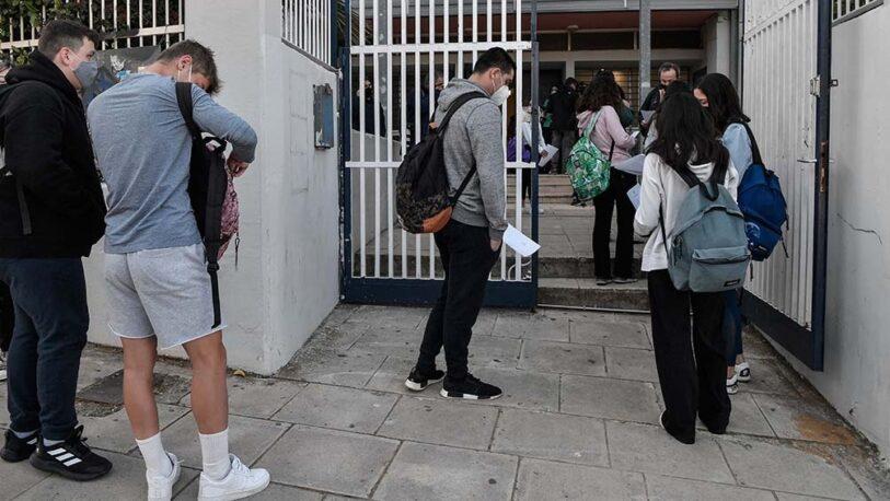 Grecia impuso restricciones por 7 meses a quienes no estén vacunados contra la Covid