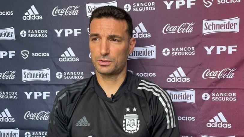 """Lionel Scaloni habló sobre volver a jugar con hinchas: """"Siempre fueron incondicionales"""""""