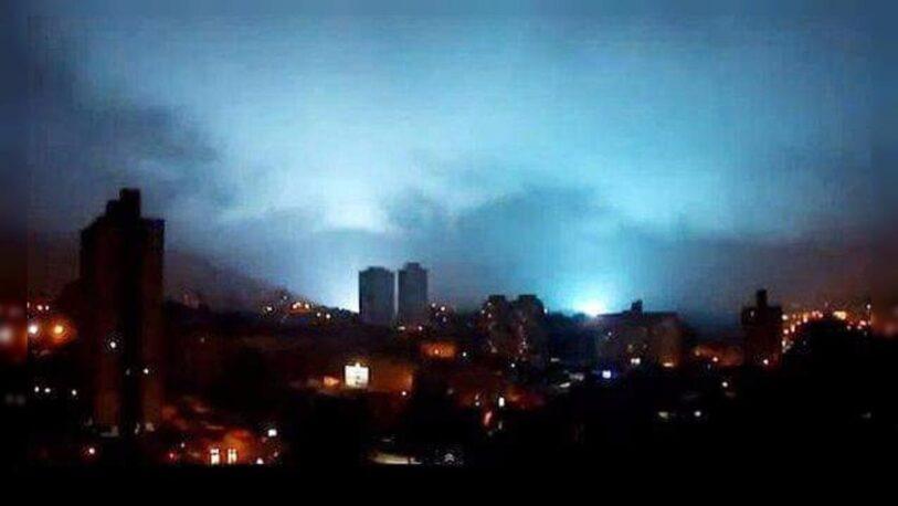 Se observaron extrañas luces durante el terremoto en México