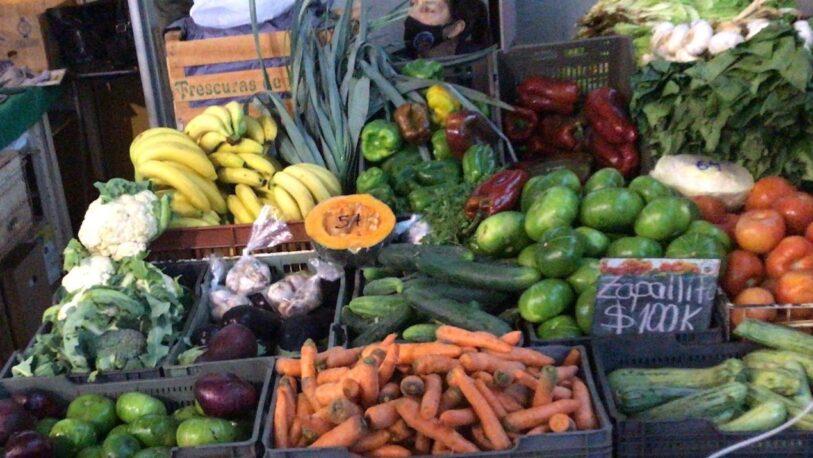 El consumo de frutas y verduras se mantienen estables