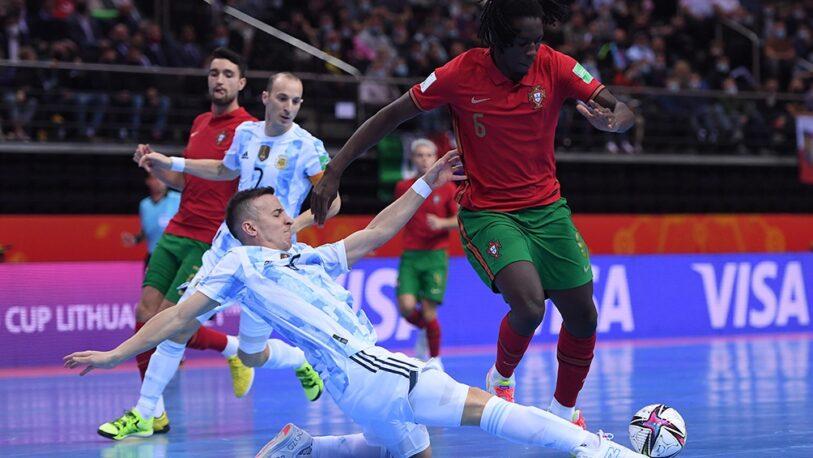 Futsal: Argentina luchó pero cayó ante Portugal en la final del Mundial