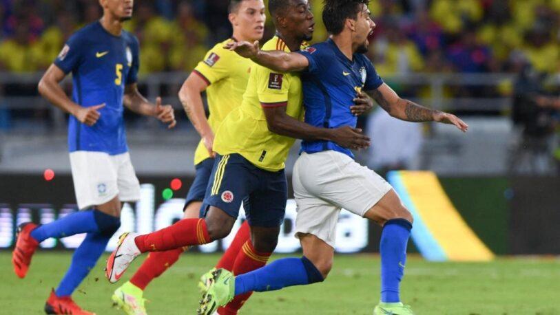 Brasil empató con Colombia en Eliminatorias