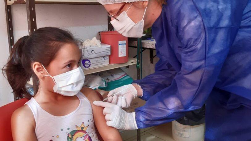 Coronavirus: más de 7.700 niños de 3 a 11 años recibieron la primera dosis de la vacuna