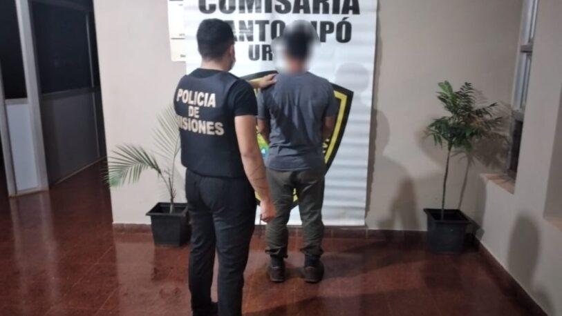 Cuatrero armado detenido con carne faenada en Santo Pipó