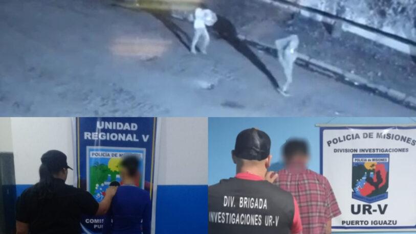 Detuvieron a un dúo involucrado en el robo e incendio del depósito de una empresa