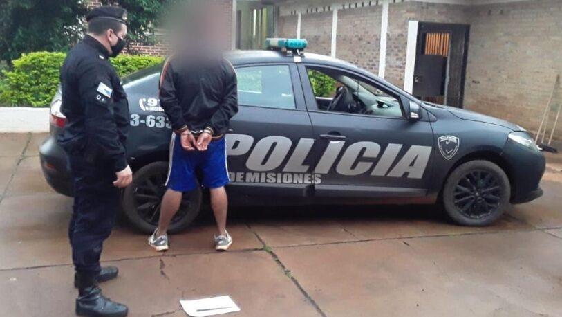 Detuvieron un joven que robó en una vivienda