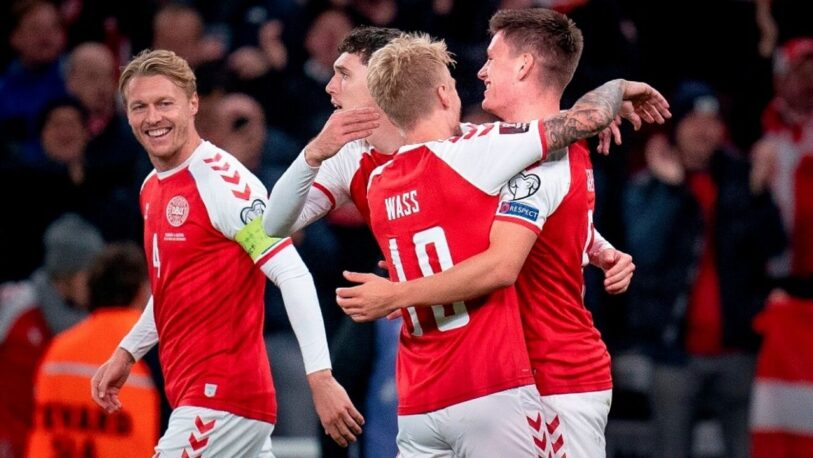 Dinamarca es la segunda selección clasificada al Mundial