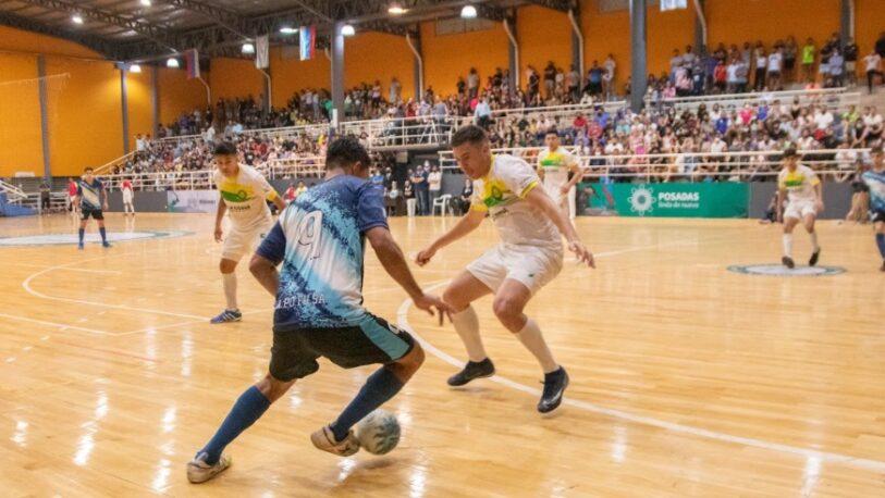 """El mejor futsal de la región marcó el regreso de la actividad deportiva al """"Finito"""" Gehrmann"""