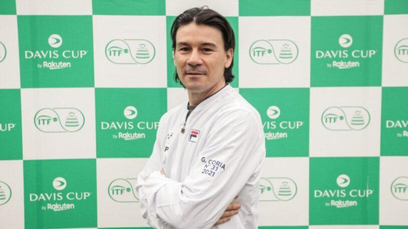 Guillermo Coria nuevo capitán Argentino de la Copa Davis