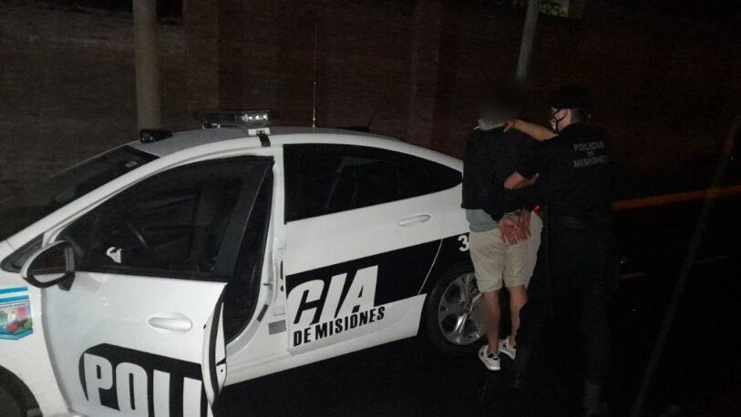 Intentó ingresar a una vivienda para robar y fue detenido