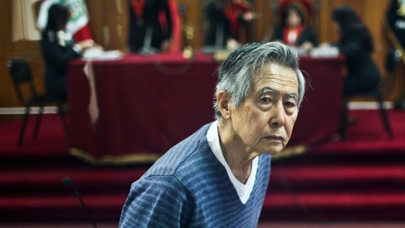 Internaron a Fujimori