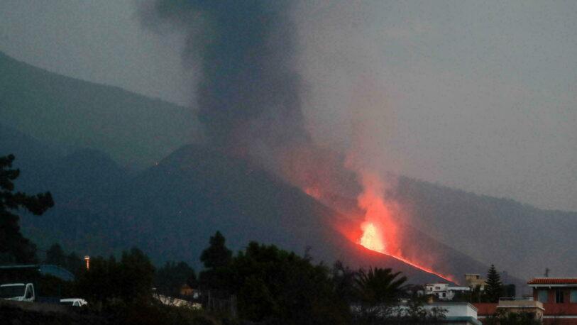 Aseguran que la erupción del volcán de La Palma es la más destructiva de la historia de España