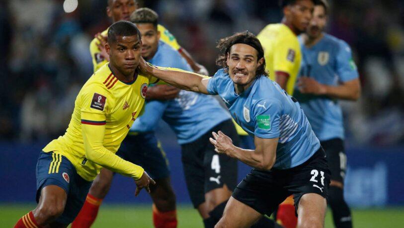 Uruguay empató 0-0 ante Colombia