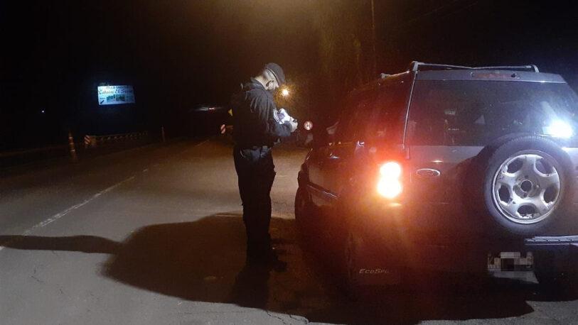 Secuestraron en un control policial un automóvil robado