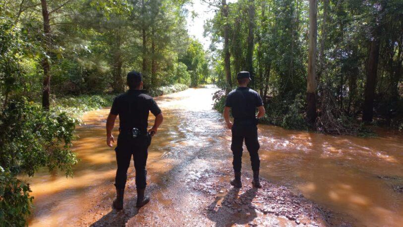 Varias localidades afectadas por la creciente del arroyo Pindaytí