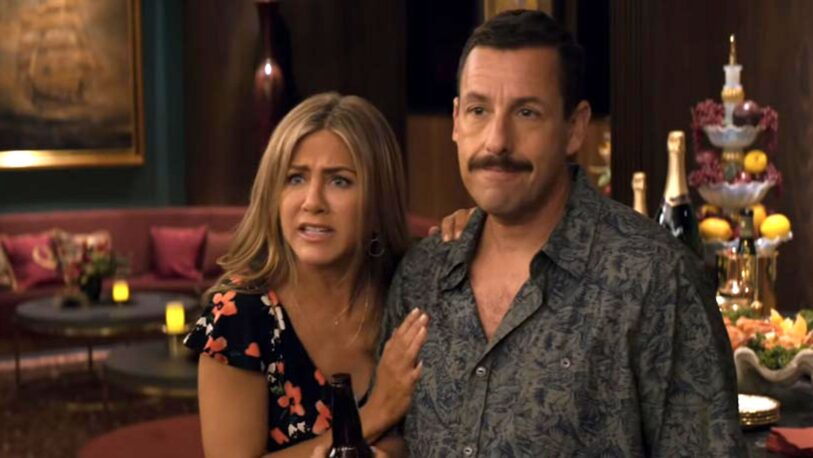 Jennifer Aniston y Adam Sandler vuelven a ser pareja en Netflix