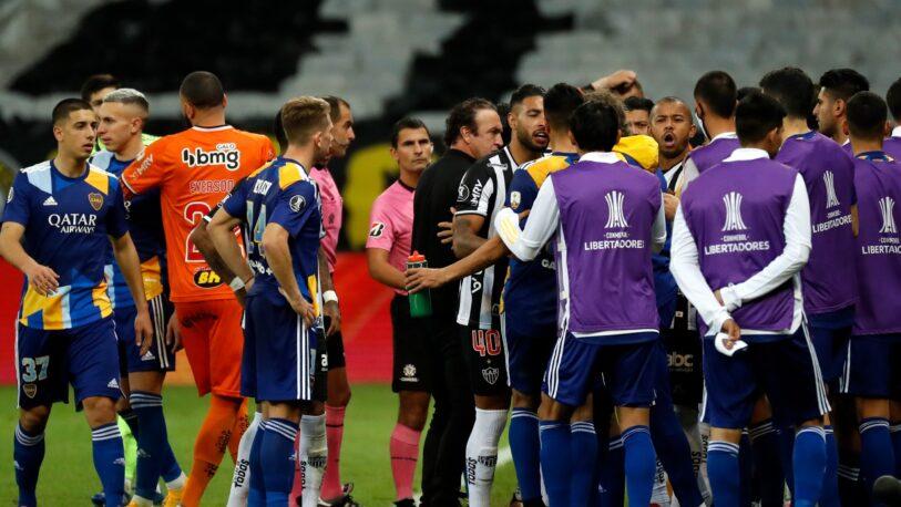 Dura sanción de la Conmebol a Boca por los incidentes en la Copa Libertadores