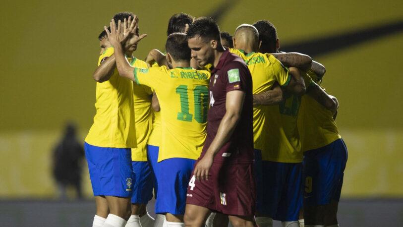 Brasil se lo dio vuelta a Venezuela y mantuvo puntaje perfecto en Eliminatorias Sudamericanas
