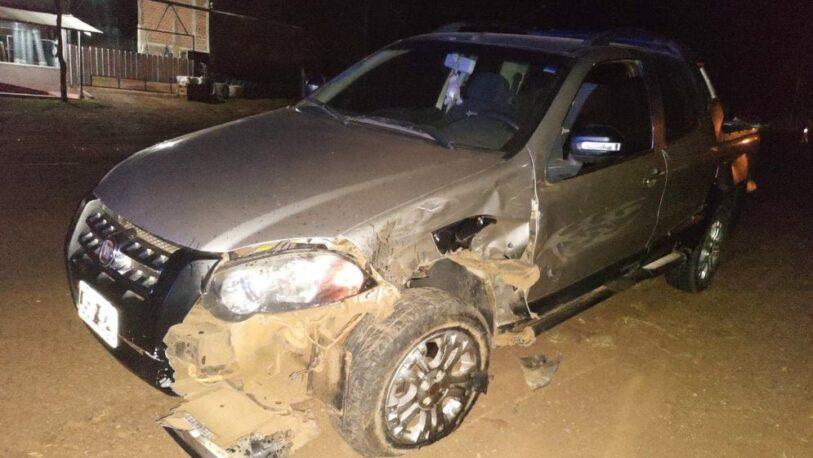 Leandro N. Alem: motociclista resultó herido tras un choque y está grave