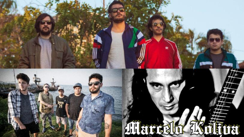Gonzalo del Llano, Marcelo Koliva y Survival Reggae Music tocarán en el Cidade