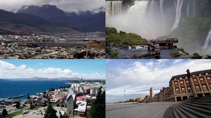 Fin de semana largo: Cuáles son los destinos turísticos más elegidos de Argentina