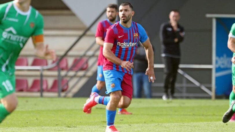 El Kun Agüero prepara su debut
