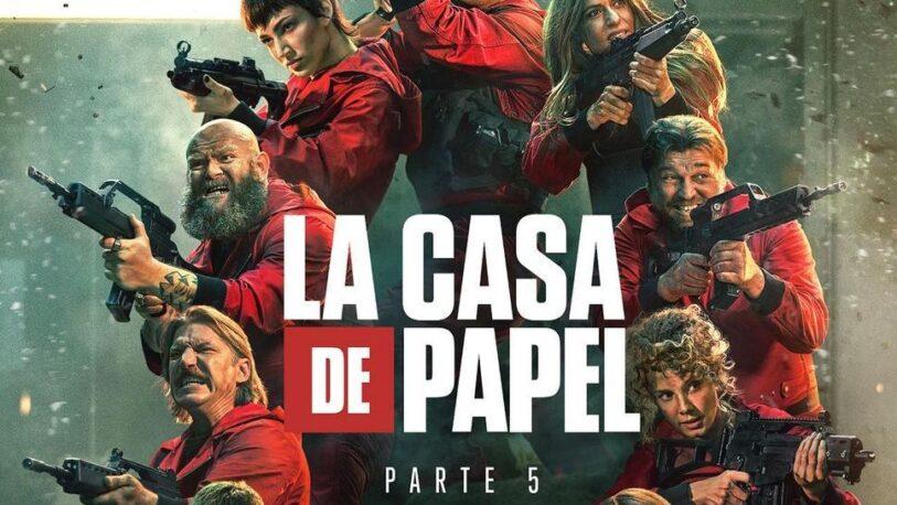 """Netflix revela los avances de """"La casa de papel"""" Parte 5"""