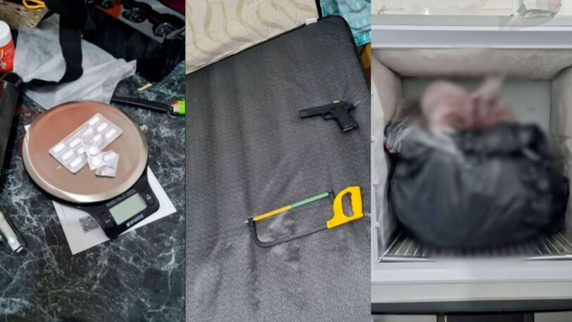 Macabro: descuartizó a su amigo y lo escondió dentro del freezer