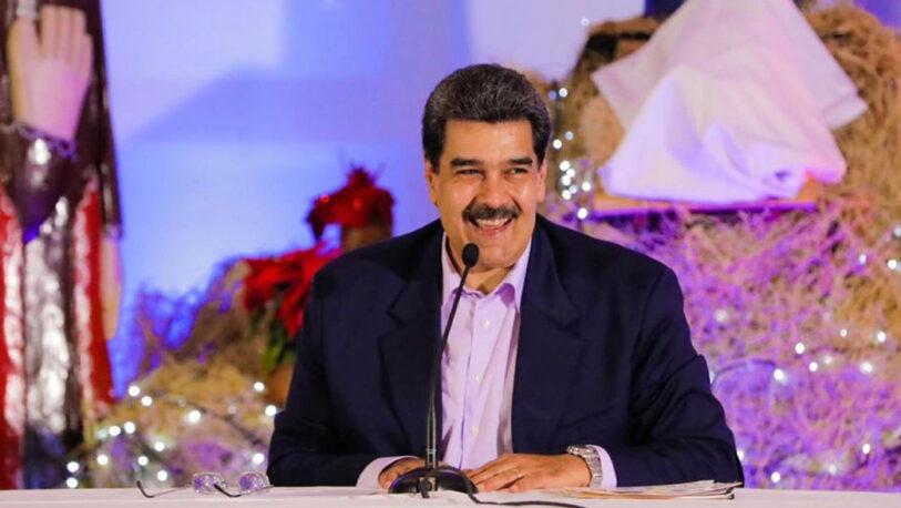 """Nicolás Maduro anunció que en Venezuela """"llegó la Navidad"""" en octubre"""