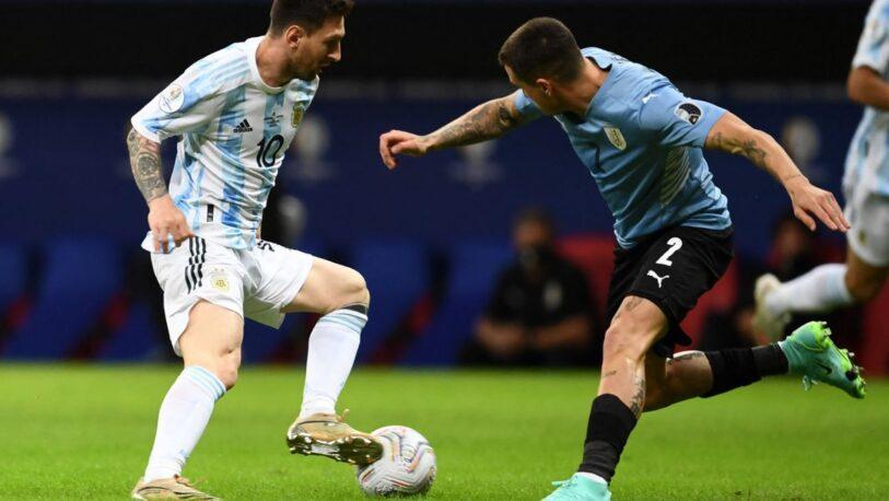 La Selección Argentina recibe a Uruguay por las Eliminatorias