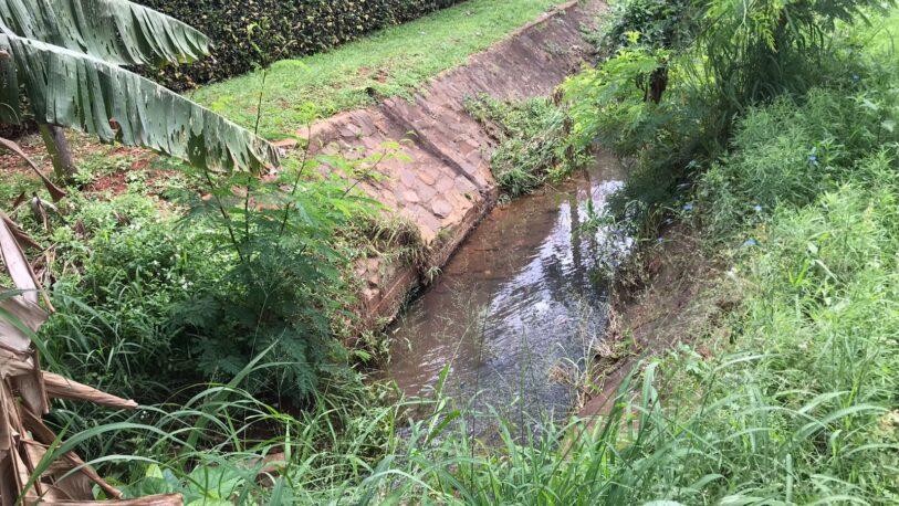 Vecinos piden el entubamiento del arroyo Itá en Chacra 67