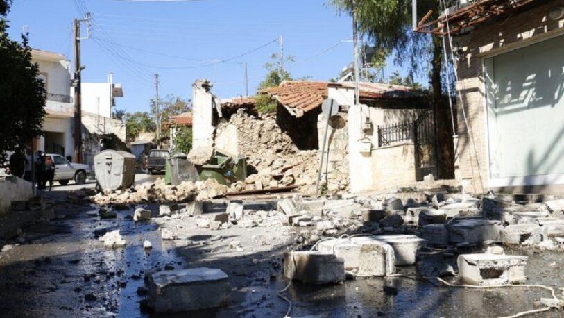 Un terremoto de 6,3 de magnitud sacudió Grecia